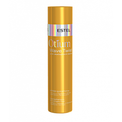 Крем-шампунь для вьющихся волос ESTEL OTIUM WAVE TWIST, 250 мл