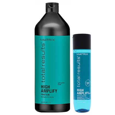 Шампунь для объёма волос High Amplify
