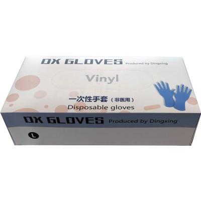 Перчатки виниловые, размер L, упаковка /100 шт
