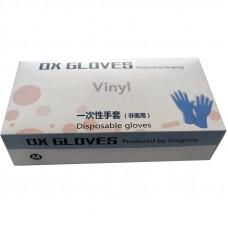 Перчатки виниловые, размер М, упаковка /100 шт